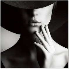 Timeless Beauty Tips Interview split lighting portrait. unique angle of the hat creates a mysterious mood in the model. black and white increases contrast. Photography Women, Photography Tips, Portrait Photography, Fashion Photography, Digital Photography, Artistic Photography, Photography Tutorials, Mysterious Photography, Still Photography