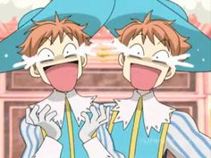 """ouran high school funny 