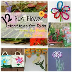 Kz and Me: 12 flower-themed activities perfect for Spring!