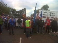 Unity Of Purpose At Belfast Anti-Internment March