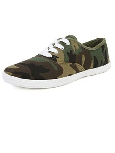 Best for Blending In: Wild Dive Marsden-01 Lace Up #Sneakers, $14.20; makemechic.com