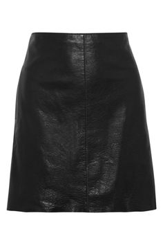 Leather mini skirt   Iris & Ink   THE OUTNET