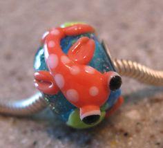 Lampwork Glass Koi Beads