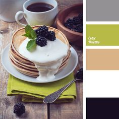Tender olive combined with beige and brown is a good color solution for kitchens. Shades of this palette are very close to natural vegetation and thus make any kitchen look especially cozy. The color of blackberry brings gracefulness and elegance into the neutral olive interior.