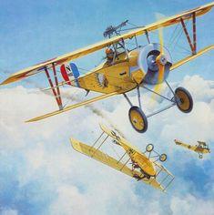 Nieuport 11 Raoul Lufbery - Brian Knight