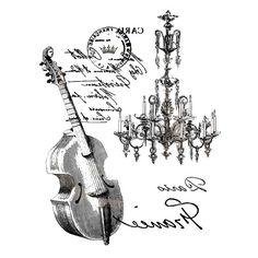 Printable violon