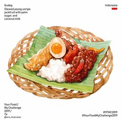 Your Food My Challenge 2019 Cơm tấm Sài Gòn Broken rice with grilled pork chop Vietnam 🇻🇳 Food Sketch, Food Cartoon, Watercolor Food, Food Wallpaper, How To Make Sandwich, Food Painting, Food Drawing, Logo Food, Indonesian Food