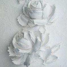 Доброго дня! И прекрасного настроения! Люблю белый цвет, цвет снега, чистоты... А Вы? #скульптурнаяживопись #объемнаяживопись #творческая_мастерская_мастихин_настроение #творческая_мастерская_мастихин #рельефнаяштукатурка #рельефнаяживопись #декоративнаяштукатурка #объемнаякартина #картинаназаказ