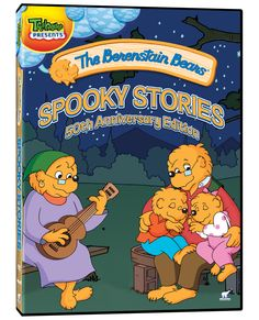 berenstain bears the trick or treat spooky stories factory sealed dvd