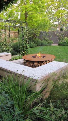 Large garden in Barnes   Charlotte Rowe Blog