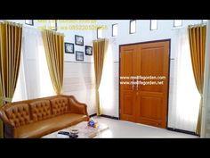 Dekorasi Gorden Warna Gold Di Desa Leban Bancaran Bangkalan Madura - YouTube Window Styles, Surabaya, Entryway, Windows, Curtains, Interior, Furniture, Home Decor, Life