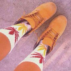 W/ huff socks