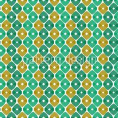 Geometrische Ornamente in Frühlingsfarben ergeben diese interessante Textur.