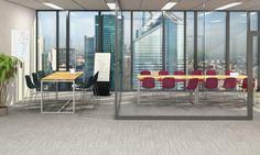 Table haute Innéo - 160x60 - piétement métallique - plateau mélaminé