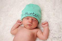 Aqua green newborn boy name hat.newborn baby boy hat.newborn boy green hat.baby boy arrow hat.newborn boy beanie.hospital hat.take home hat by TheNewBabyBoutique on Etsy https://www.etsy.com/au/listing/451865056/aqua-green-newborn-boy-name-hatnewborn
