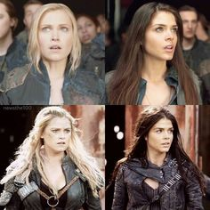#The100 1x01|3x13 #ClarkeGriffin #OctaviaBlake