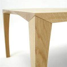 Johansen Coffee Table on Great Dane: LOVE the joinery on this coffee table