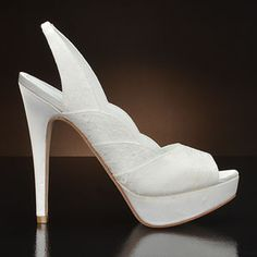 DAVID TUTERA SWEETIE Wedding Shoes and SWEETIE Dyeable Bridal Shoes WHITE: