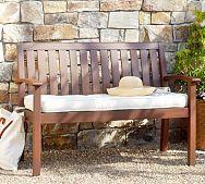 Chatham Porch Bench & Cushion