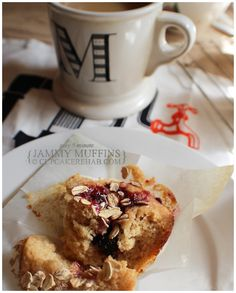 Cupcake Rehab - Five minute jammy muffins!