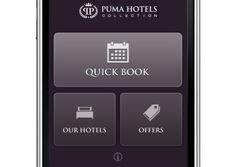 Puma Mobile Homepage