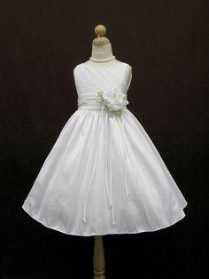 Elegant Diamond Quilted Flowergirl Dress - Size 4 -10 Flower Girl Dresses
