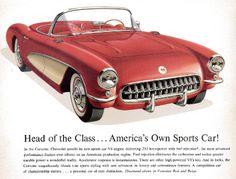MotorCities National Heritage Area - Corvette Ad
