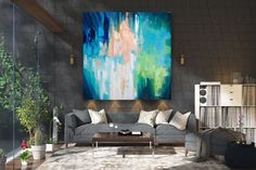 Items similar to Large Abstract Canvas Art,Extra Large Abstract Canvas Art,painting on canvas,modern abstract,extra large wall art on Etsy Oversized Canvas Art, Large Canvas Art, Abstract Canvas Art, Large Painting, Texture Painting, Texture Art, Gold Canvas, Extra Large Wall Art, Large Art