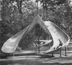They knew how to make slides in Czechoslovakia in the 60's!