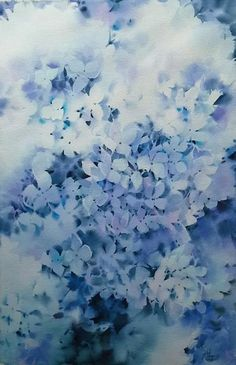 Negative paintiing blossoms.  Absolutely lovely!!
