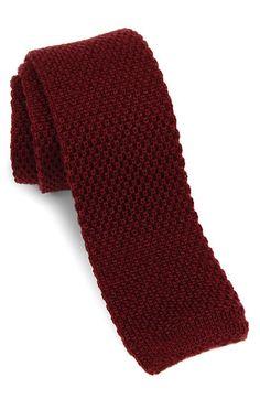 1901 Skinny Knit Tie from Nordstrom