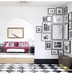 Cozy Gallery Wall Decor Ideas For Bedroom - People invest a lot of time and money in decorating the living room, dining hall, and other frequently visited places of their home. Gallery Wall Bedroom, Bedroom Wall, Photo Gallery Walls, Gallery Wall Art, Picture Walls, Corner Wall Decor, Inspiration Wall, My New Room, Frames On Wall