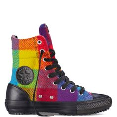 aeaf59fd873deb Chuck Taylor All Star Woolrich Hi-Rise Boot  90.00  69.99 Yellow Bird ( 549687C)