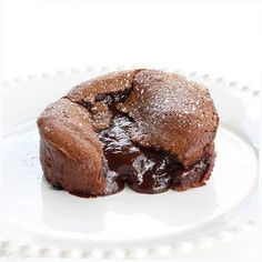 Molten Lava Cakes. I've made something similar several times and loved them and these seem even more rich and gooey, excited to try them when I get a chance!!!!!!!!