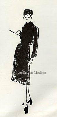 Illustration - Edith Head