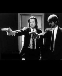 Pulp Fiction... check out the big brain on Brad!!!