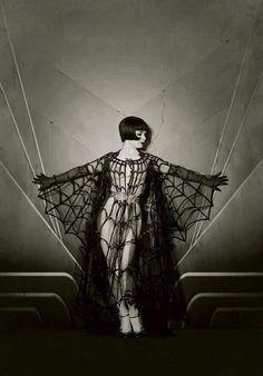 Vintage Burlesque ★ Spider dress
