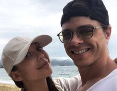 Cheryl Burke and Matthew Lawrence Are Adorable on Romantic Caribbean Vacation #Paparazzi #adorable #burke #caribbean #cheryl