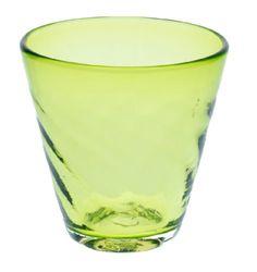 Chura san Glass Green (d90 x h90mm) mfr. Ryukyu Glass Craft