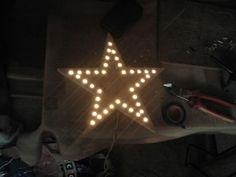 Een led ster