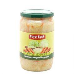 Venäläinen hapankaali 680 g Kimchi, Pickles, Cucumber, Euro, Oatmeal, Breakfast, Food, The Oatmeal, Morning Coffee