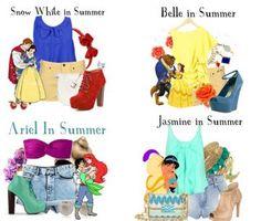 moda inspirados nas princesas
