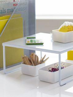 Franklin Desk Riser - White, Small