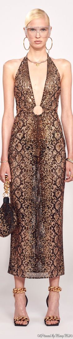 Elie Saab, Versace Fashion, Glamour, Animal Fashion, Couture Dresses, Style Inspiration, Chic, Party Dresses, Street Styles