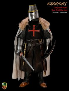 Product Announcement New Product: [ ACI Toys ] 1/6 Crusader Knight Templars All 4 Styles Coming Soon - OSW: One Sixth Warrior Forum