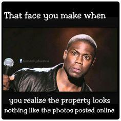Real estate funny meme Kevin hart