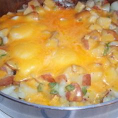 """Country Breakfast """"This is very good ..We added things to it like diced ham, or sausage.. It's a great camping food"""""""
