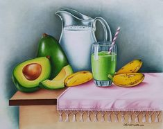Instagram, Fruit, Dish Towels, Tejidos, Log Projects, Drawings, Vitamin E, Paintings