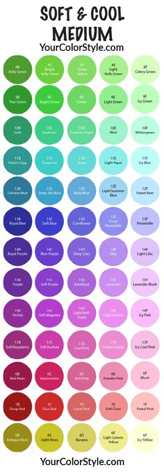 Soft, Cool & Medium Style Guide – Your Color Style Club