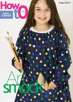 Art Smock #2217 - great for keeping the kids clean during art projects.